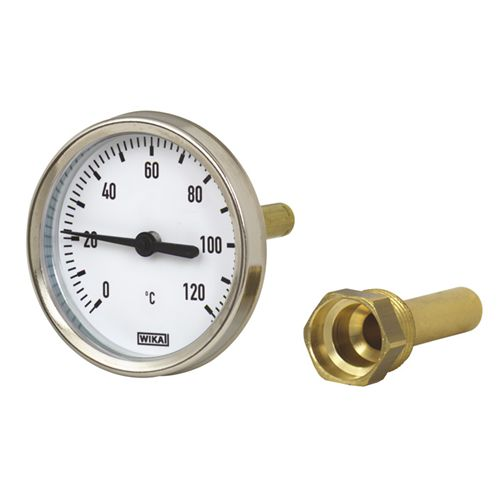 WIKA Model 46 Bimetal thermometer For industrial heating