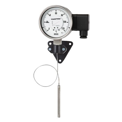 WIKA  Model TGT70 Expansion thermometer with electrical output signal Stainless steel version, with or without capillary