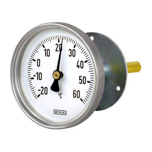 WIKA  Model 48 Bimetallic thermometer For air-conditioning and refrigeration systems