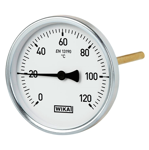 WIKA  Model A51 Bimetal thermometer For heating technology, high-quality version