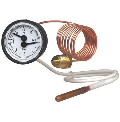 WIKA Model MFT Thermomanometer For pressure and temperature measurement