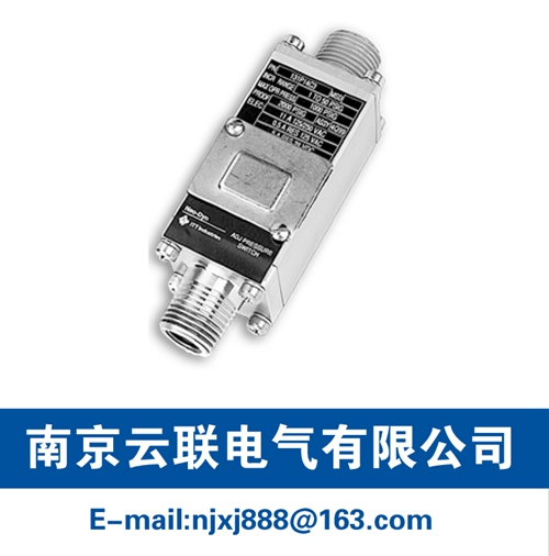 131P NEMA 4X & 13 Pressure Switch/Internal Adjustment