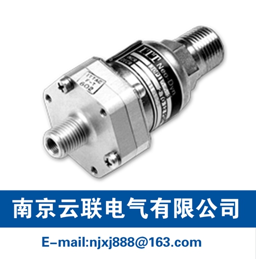 115P/115PP NEMA 4 & 13 Pressure Switch/Tamper Proof