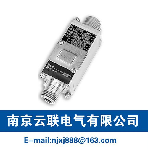 231P NEMA 4X, 7, 9 & 13 Pressure Switch/Internal Adjustment