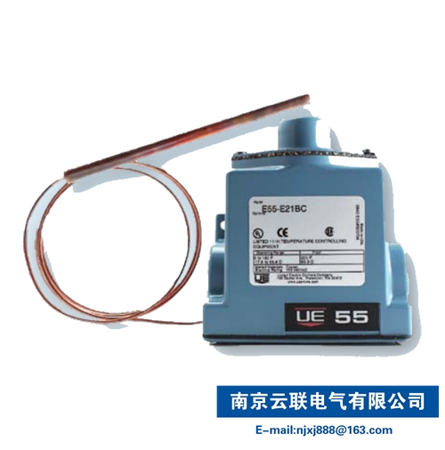 UE 55 series Rugged temperature switch with external dial