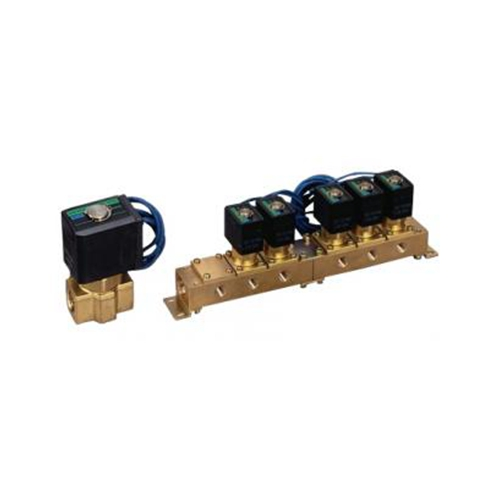 Direct-acting 2-way solenoid valve for vacuum in CKD (special valve)