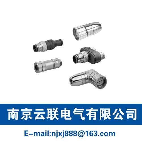 Aventics Electrical Connection Technology Round Plug, Series CON-RD