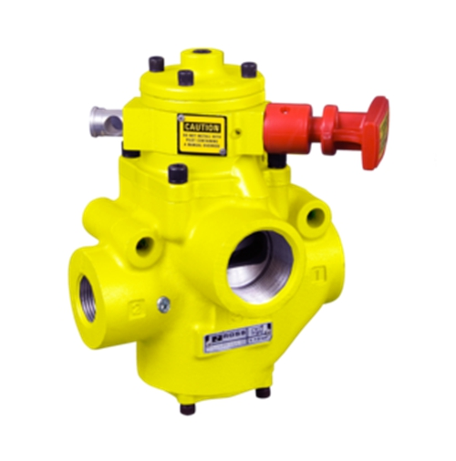 ROSS Piloted Valves with Manual L-O-X® Control 27 Series