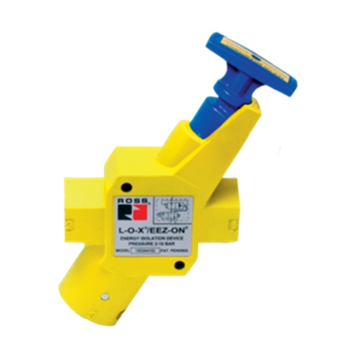 ROSS  Manual Lockout L-O-X® Valves with Soft Start EEZ-ON®, Classic15 Series, 3/8 to 1-1/4