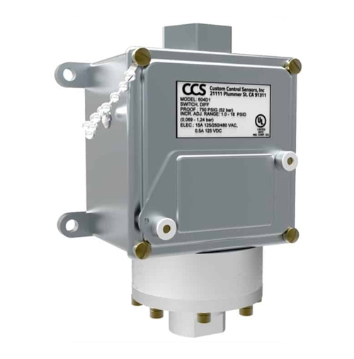 CCS differential pressure switch 604D
