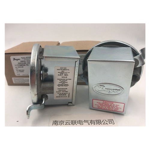 DWYER pressure switch 1910-20