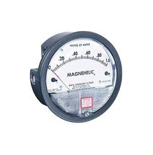 Dwyer Differential Pressure Meter 2000 Series