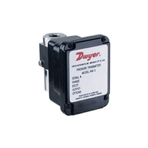 Dwyer differential pressure transmitter 645
